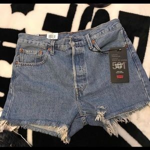 Levi's high waisted shorts from Aritzia